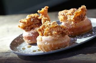 Chicken and Donuts for National Donut Day