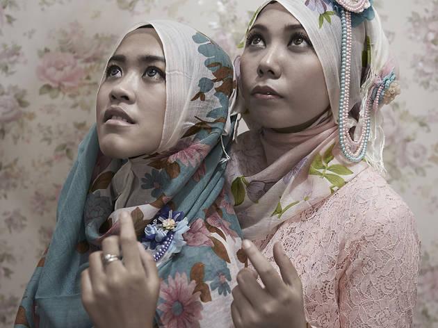 (Françoise Huguier, 'Hijab', Bandung, Indonésie, 2013 / © Françoise Huguier / Agence VU')