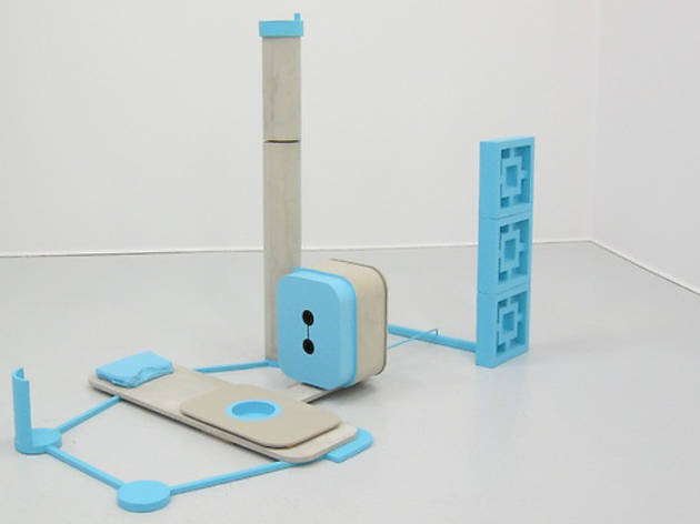 "Stephen Reber ""Blue and Concrete"", 2013."