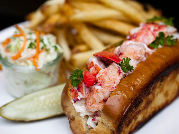 Lobster Roll at Shaw's Crab House's.