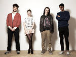From left to right: Jack Patterson, Grace Chatto, Luke Patterson and Neil Amin-Smith