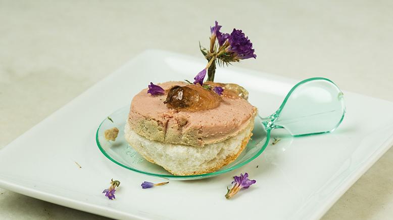 Cucharita de foie en El 2D