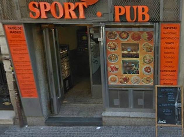 Café Bar Sport Pub