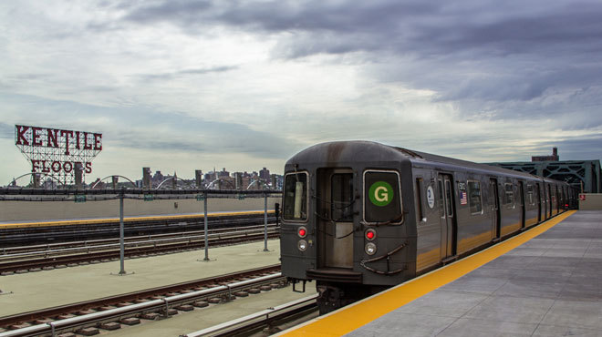 Uber will offer free rides to G Train users