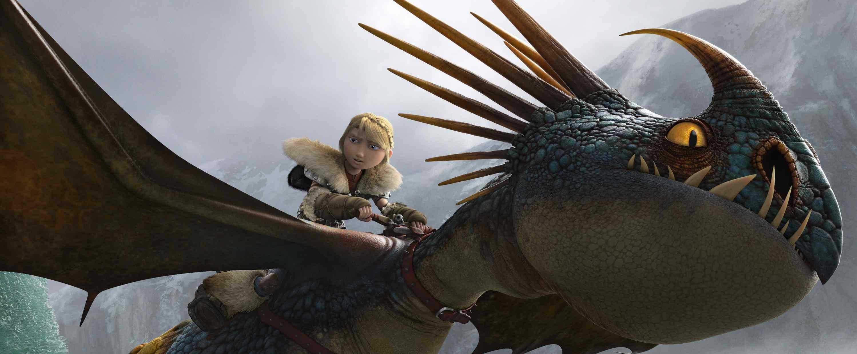 Cómo entrenar a tu dragón 2. Estreno: 20 de junio.