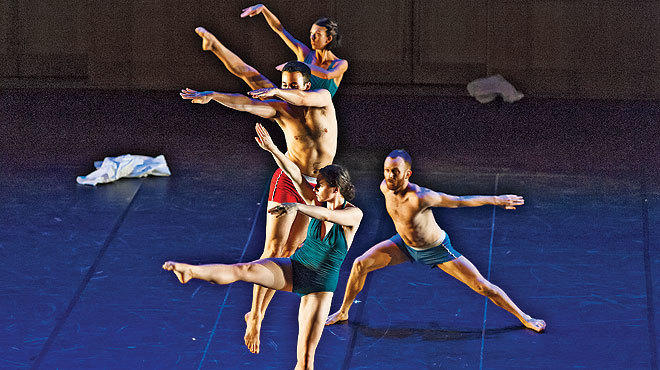 Trisha Brown Dance Company is part of the River to River Festival