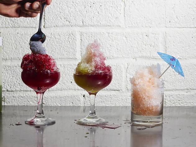 Shaved Ice Cocktails at Mott St.