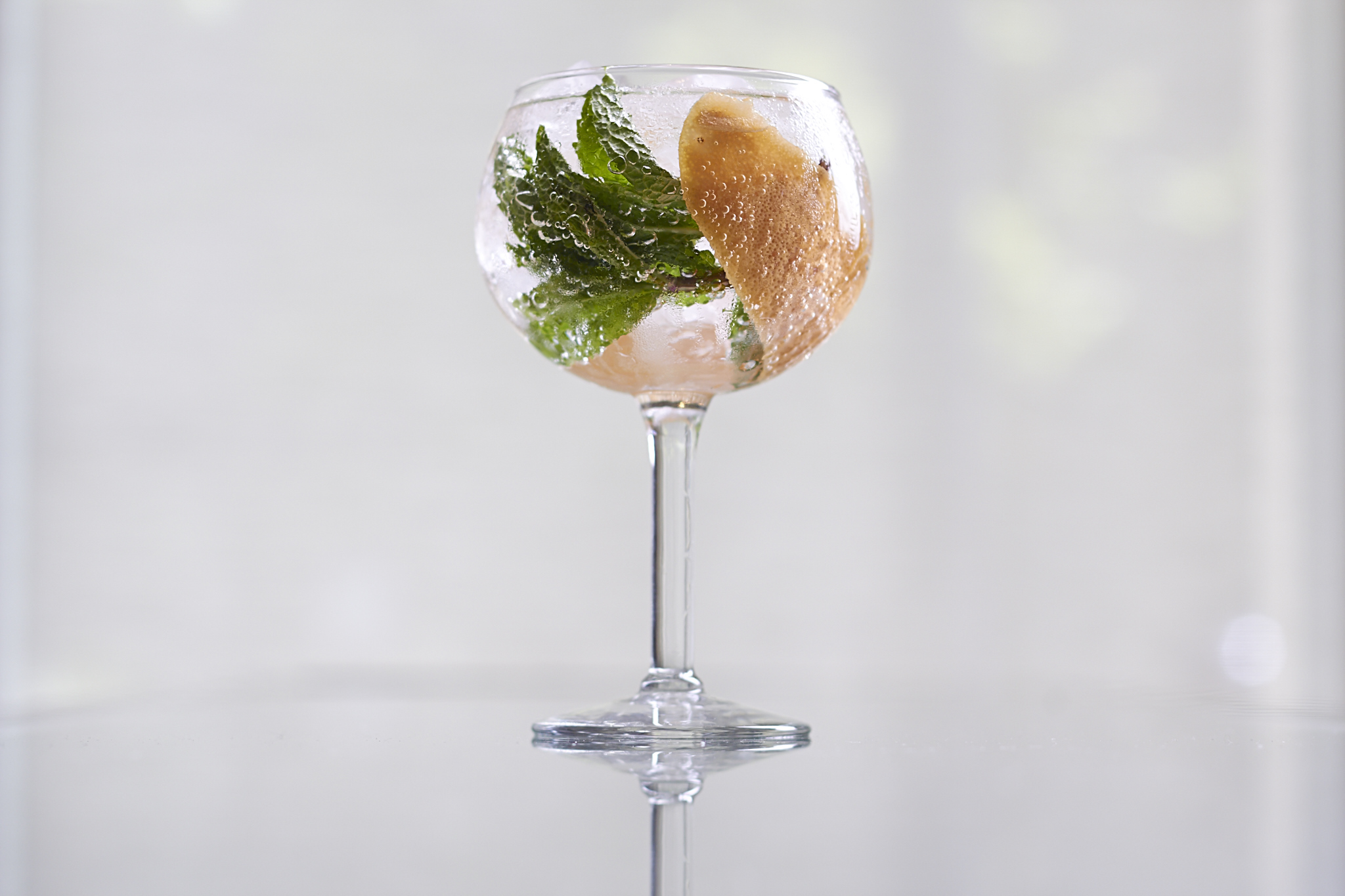 Grapefruit & Mint Gintonic at Sable Kitchen & Bar