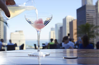 Terrace at Trump is one of the best rooftop bars in Chicago.