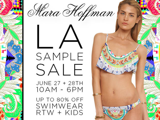 Mara Hoffman LA Sample Sale + Online Sample Sale | Shopping in Los ...