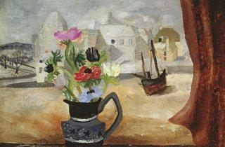 Christopher Wood ('Anemones in a Cornish Window', 1930)