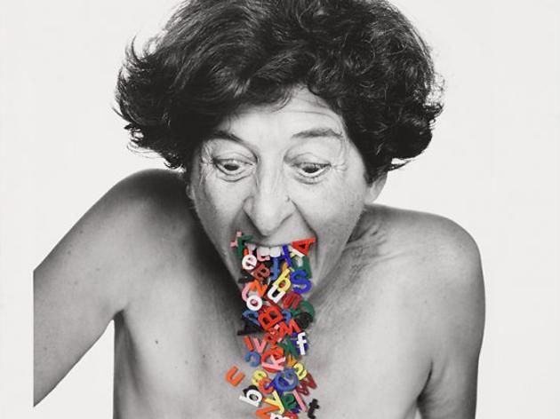 (Esther Ferrer, 'Sans titre', version 2011 / Série 'Le livre des têtes' / © Esther Ferrer)