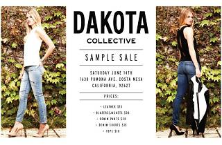Dakota Collective Sample Sale