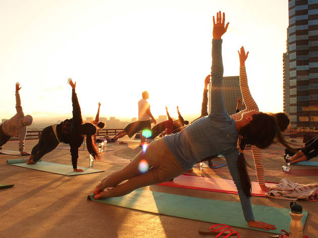 Rooftop Yoga Series (DISCONTINUED)