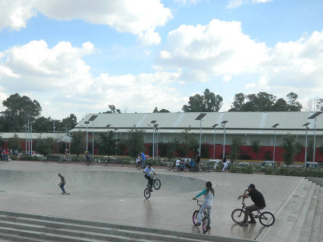 En bici por Azcapotzalco