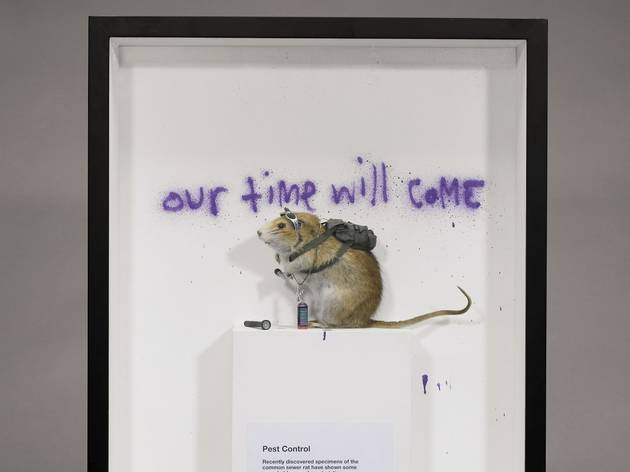 Banksy ('Dead Rat with Spray Can')