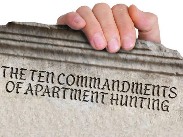 The ten commandments of apartment huntingin NYC