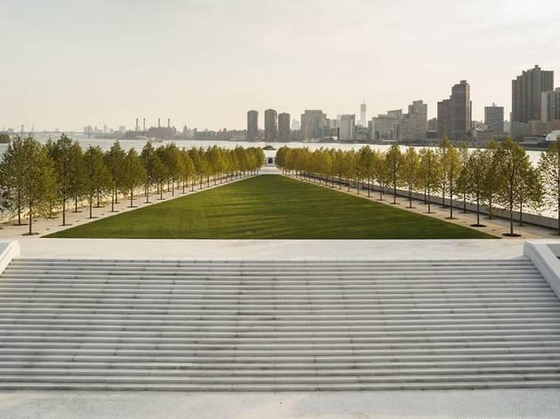 (Franklin D. Roosevelt Four Freedoms Park, New York, 1973-2012, Louis Kahn © Franklin D. Roosevelt Four Freedoms Park Photo Paul Warchol)