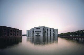 (National Assembly Building in Dhaka, Bangladesh, Louis Kahn, 1962–83 © Raymond Meier)