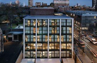 (Yale University Art Gallery, New Haven, Connecticut, Louis Kahn, 1951-53 © Elizabeth Felicella)