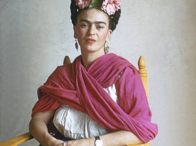 (Frida San Angel 1941 © Nickolas Muray)