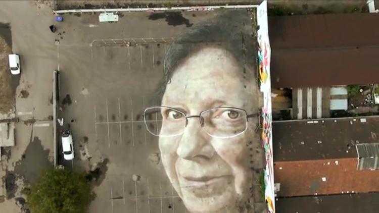 Vue aérienne de la création de Gerada / DR