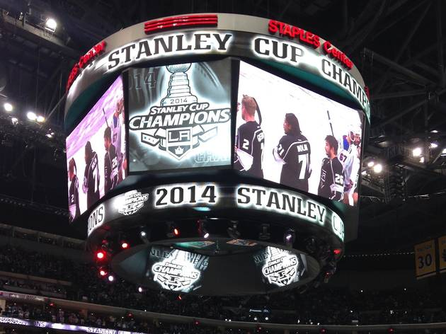 LA Kings win the Stanley Cup