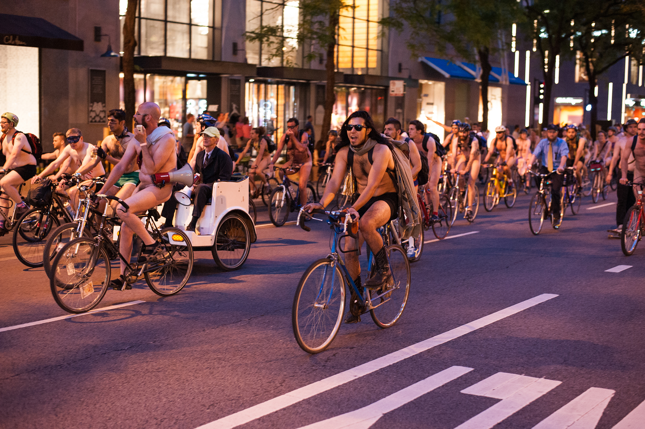 World Naked Bike Ride 2014 photos