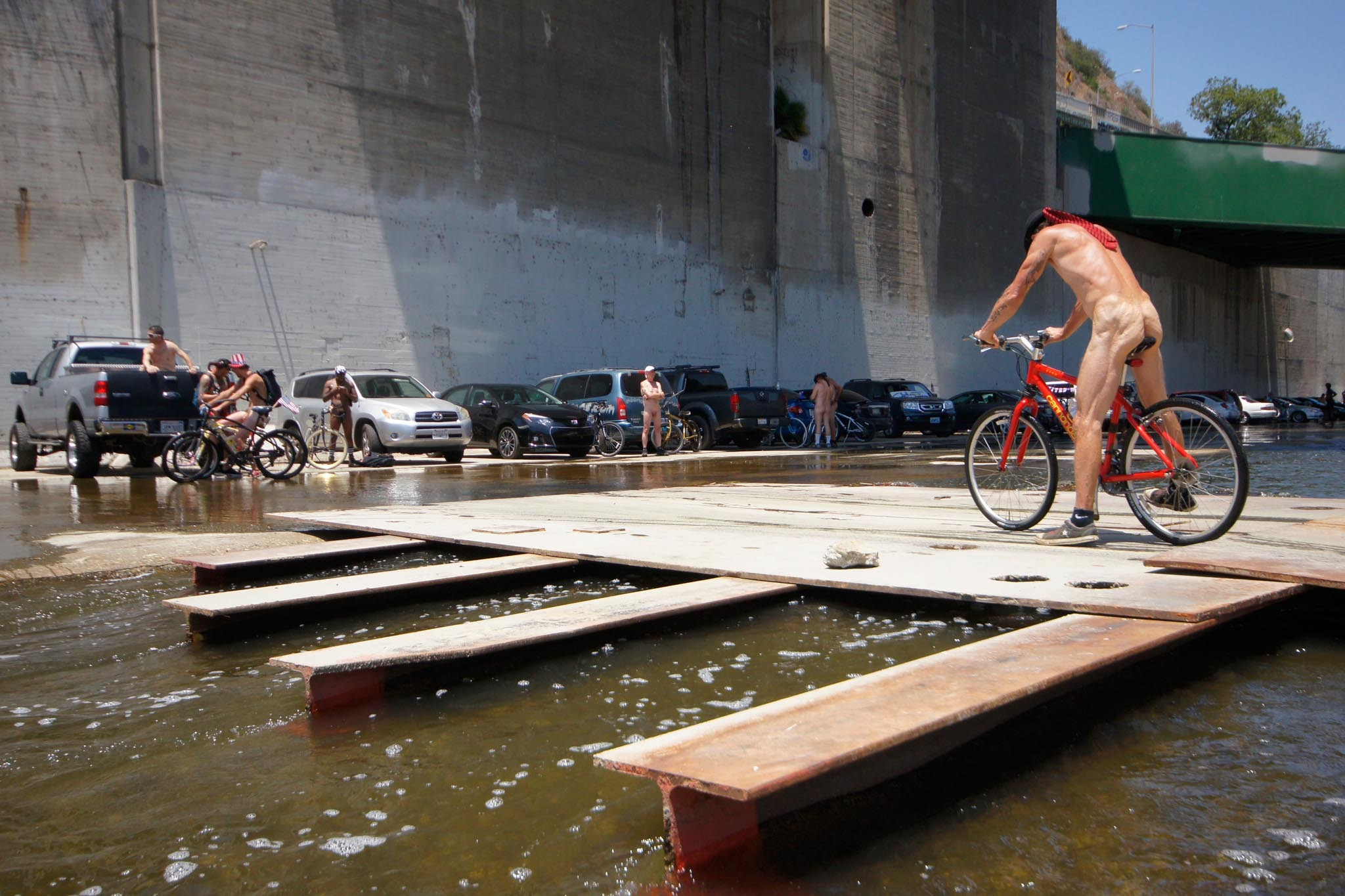 World Naked Bike Ride Los Angeles