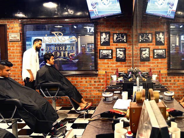 Joe's Kitchen and Barbershop