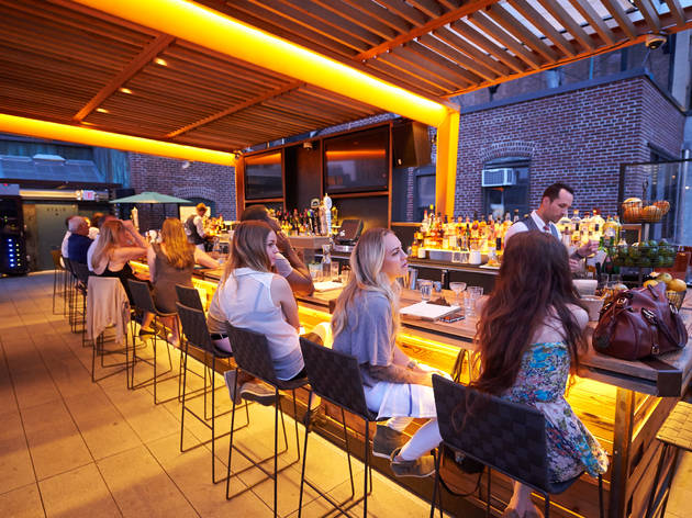 23 of the best rooftop bars in nyc to visit this summer for Hippest hotels in nyc