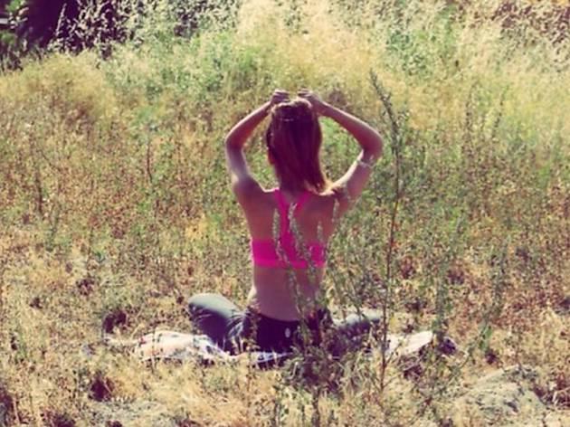 Yoga at Free People