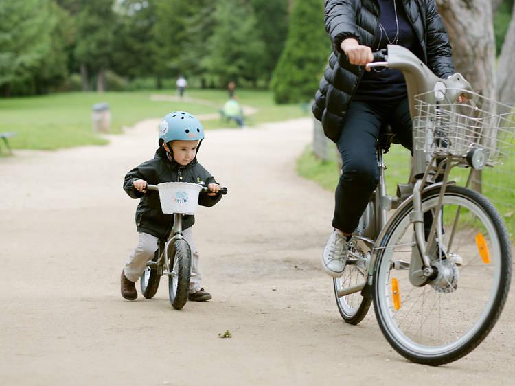 Vélo •Enfourcher un P'tit Vélib'