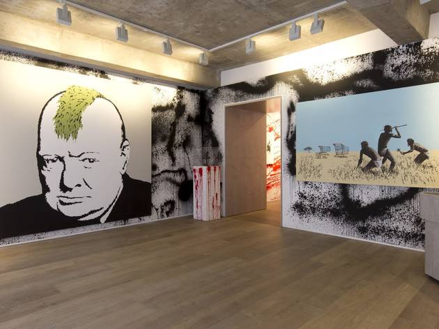 Banksy (Exhibition view)