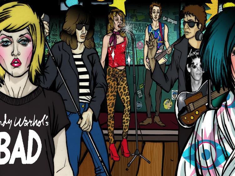 New York City rock stars