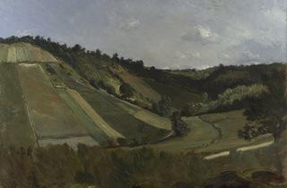Philippe Rousseau ('A Valley', c1860)