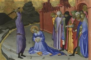 Gherardo di Jacopo Starnina  ('The Beheading of Saint Margaret', c1409)