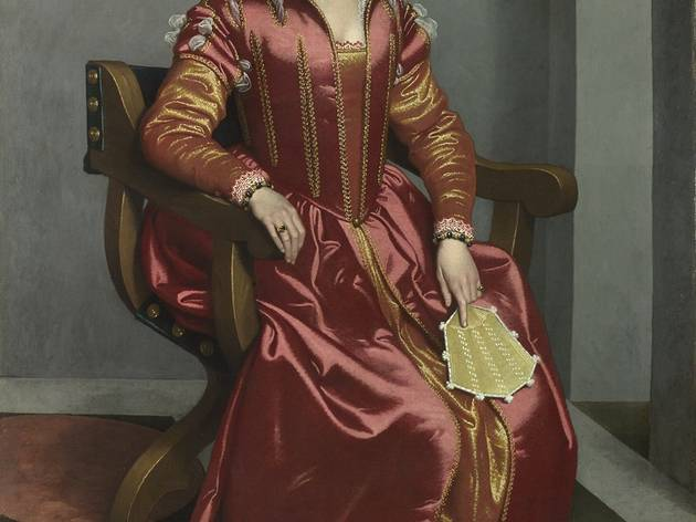 Giovanni Battista Moroni ('Portrait of a Lady, perhaps Contessa Lucia Albani Avogadro ('La Dama in Rosso')', c1556 60)