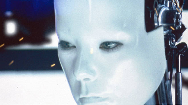 "Still from the ""All Is Full of Love"" music video. 1999. Directed by Chris Cunningham. Music by Björk."