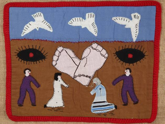 (hilean Arpilleras wall hanging: Dónde están nuestros hijos, Chile Roberta Bacic's collection Photo © Martin Melaugh)