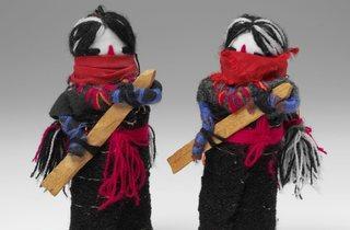 (Dolls of the Zapatista Revolution, The Zapatista, Mexico. Photo © Victoria and Albert Musem, London)