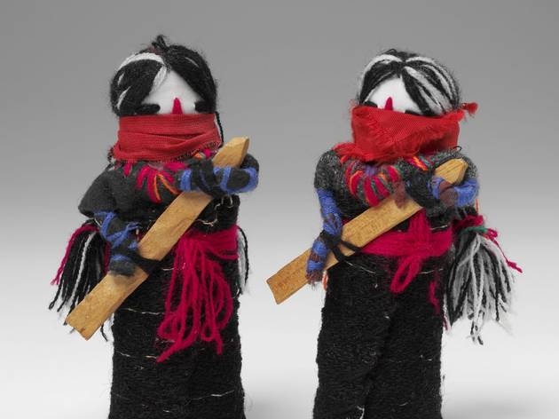 (Dolls of the Zapatista Revolution, The Zapatista, Mexico. Photo © Victoria and Albert Musem, London)