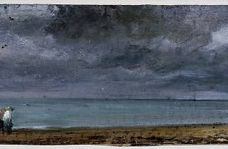 (John Constable, 'Brighton Beach', 1824 © Victoria and Albert Museum, London)