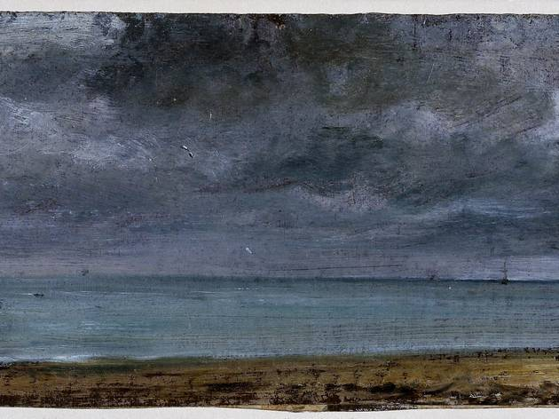 (John Constable, 'Brighton Beach', 1824 © Victoria and Albert Museum, London)