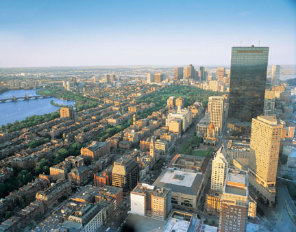 Skywalk Observatory at the Prudential Center