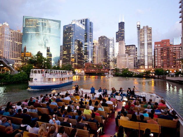 Delightful Shoreline Architectural Boat Tour