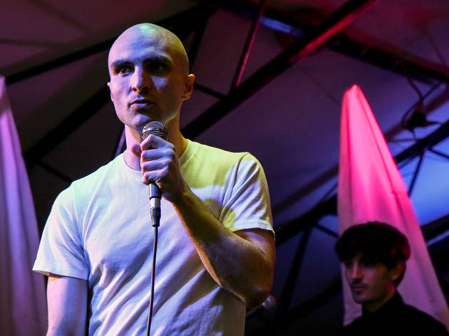 Pitchfork Music Festival 2014: Majical Cloudz with Hundred Waters