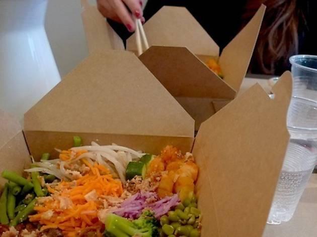 Street-food et bronzette à l'heure du déj