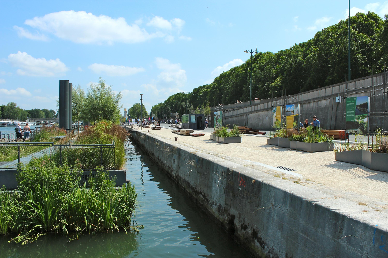 Les Berges de Seine se la coulent douce