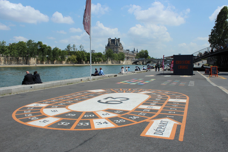 Arpenter les berges de Seine